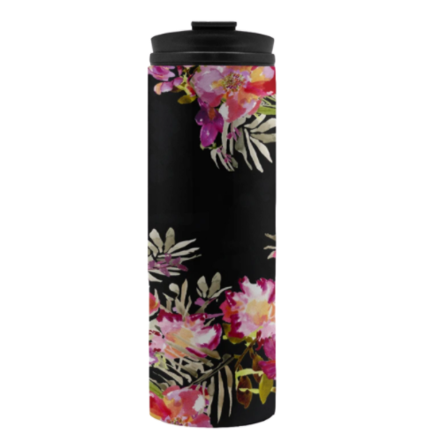 Renée Black Tumbler - Tumbler - Dreams After All