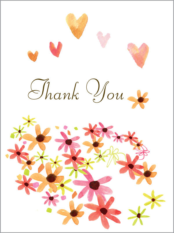 Thank You Daisy Hill Greeting Card
