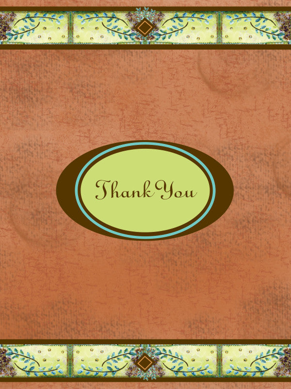 Thank You Fern Greeting Card - Greeting Card - Dreams After All
