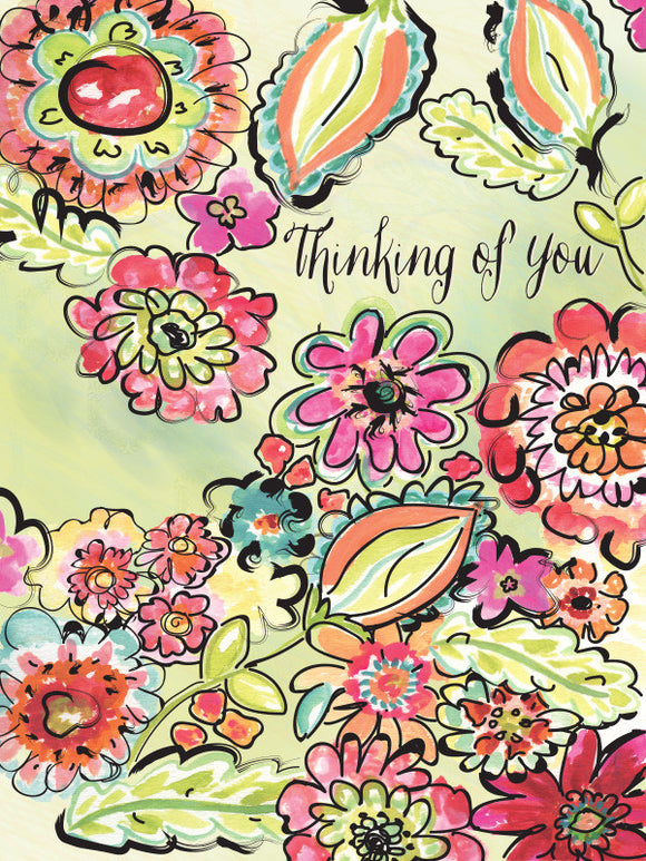 Thinking of You Caring Hearts - Greeting Card - Dreams After All
