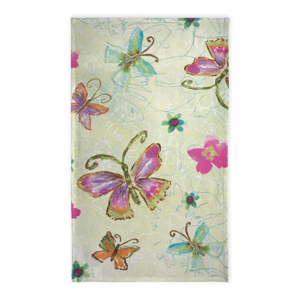 Four Butterfly Tea Towel - Tea Towel - Dreams After All