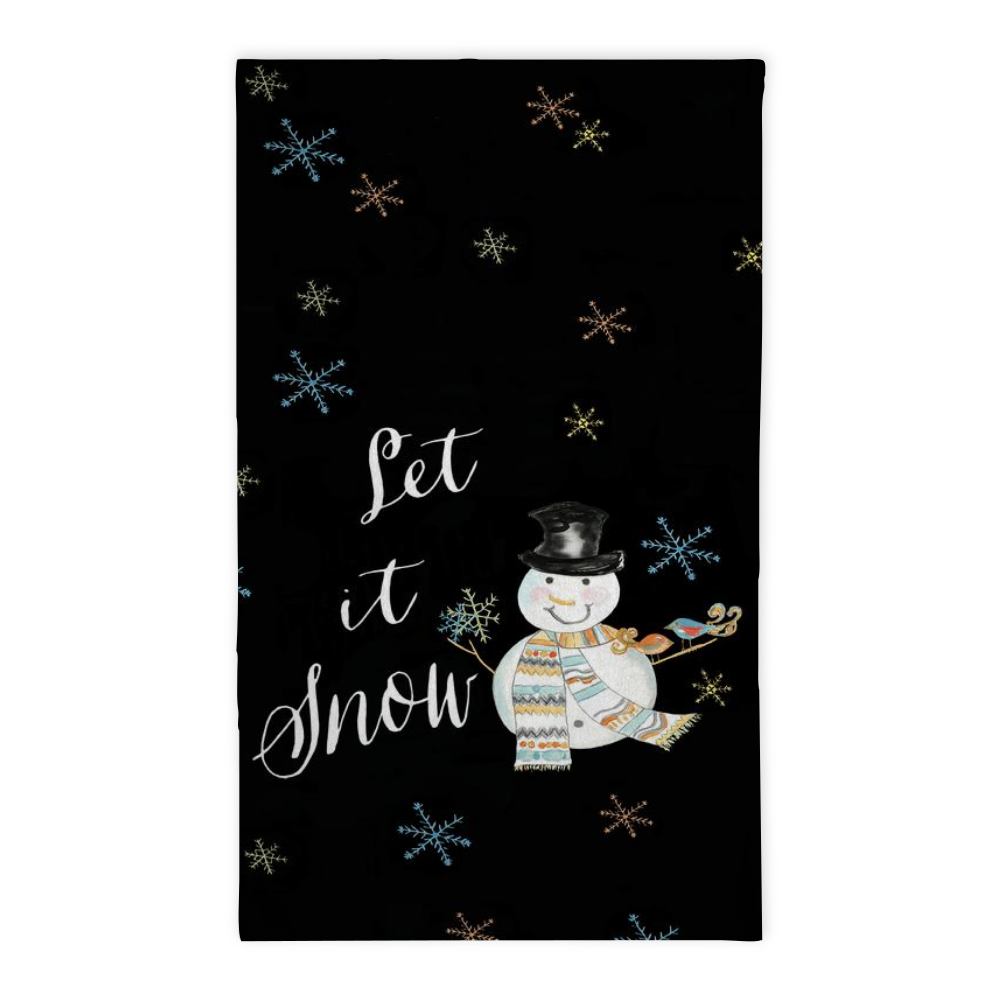 Let It Snow Tea Towel - Tea Towel - Dreams After All
