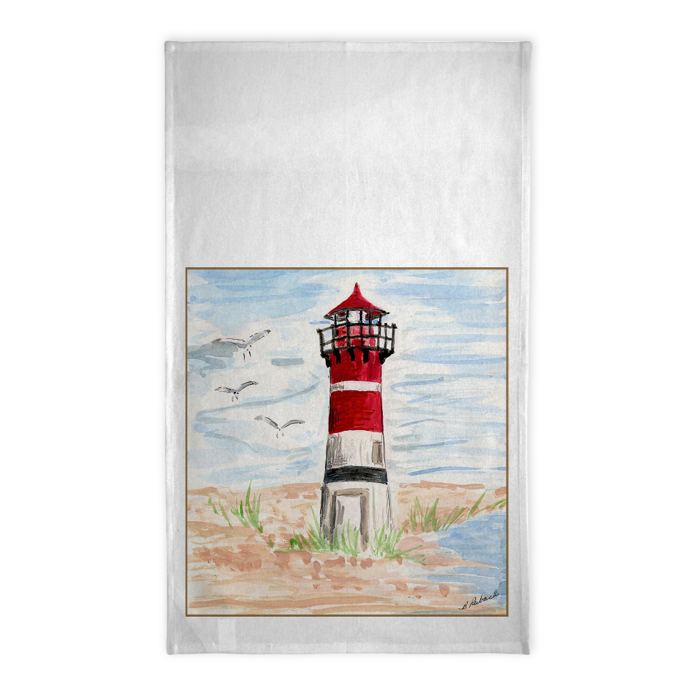 Lighthouse Tea Towel - Tea Towel - Dreams After All
