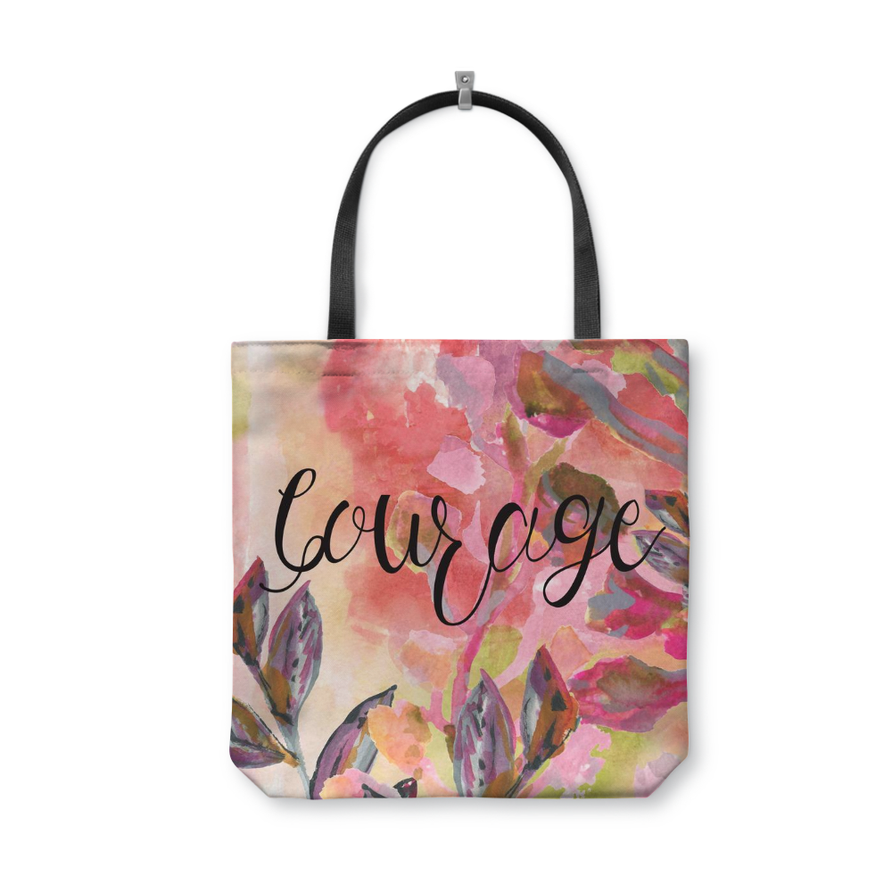 Courage Tote Bag - totes - Dreams After All