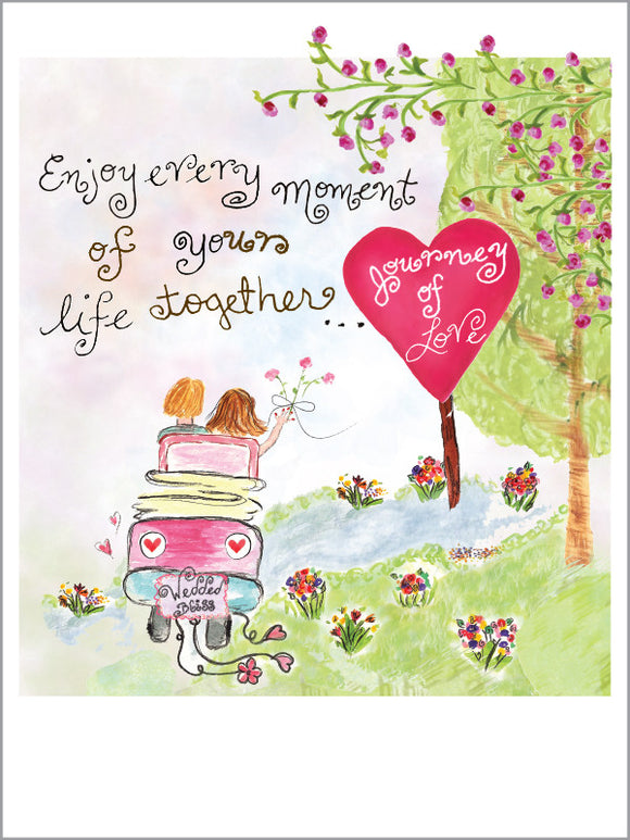 Wedding Journey of Love Card - Dreams After All
