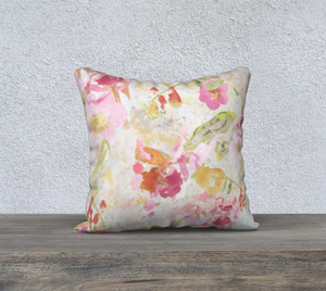 Mom's Pastel 18 x 18 Pillow Cover