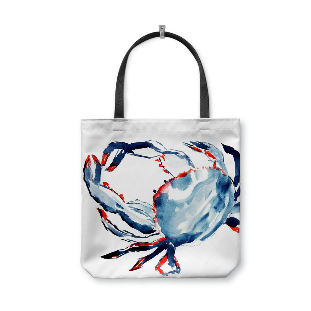 Patriotic Crab Tote Bag