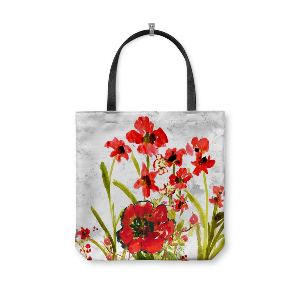 Ruby Calllista Tote Bag With Woven Handles - totes - Dreams After All