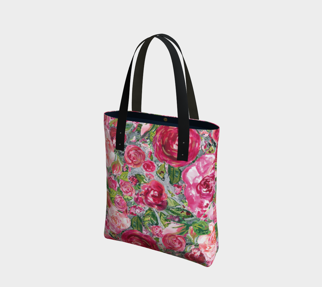Love and Roses Tote Bag