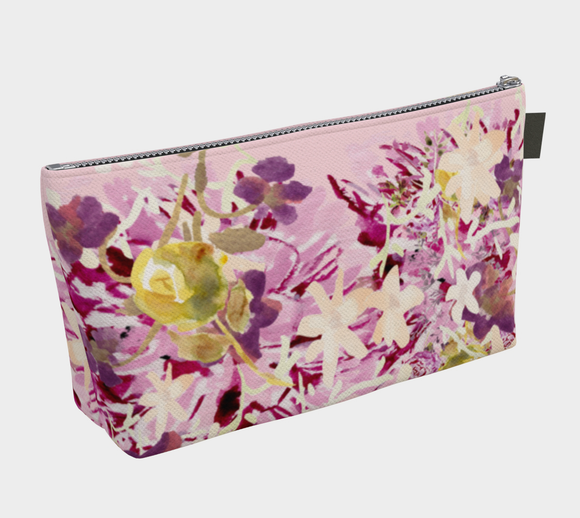 DAHLILAH LAVENDER COSMETIC BAG T BOTTOM - Dreams After All