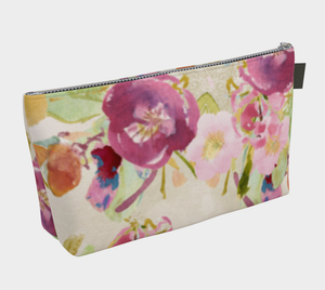 Cosmetic Bag With Zipper Pull Oh Carolina