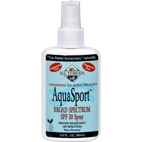 All Terrain Aquasport Spf 30 Spray - 3 Fl Oz - exploreLOHAS
