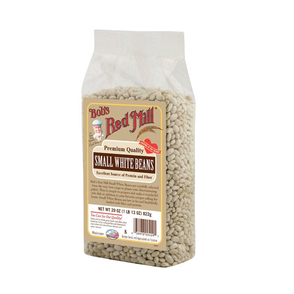 Bob's Red Mill Small White Beans - 29 Oz - Case Of 4 - exploreLOHAS