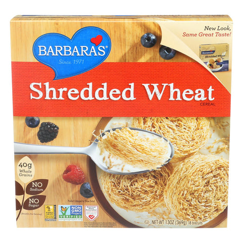 Barbara's Bakery Shredded Wheat - Case Of 12 - 13 Oz. - exploreLOHAS