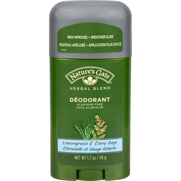 Nature's Gate Organics Deodorant Stick Lemongrass - 1.7 Oz - exploreLOHAS