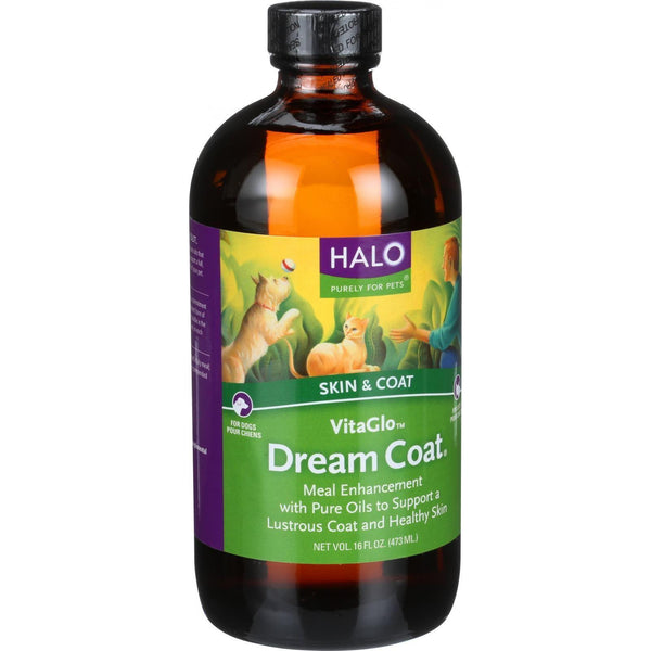 Halo Purely For Pets Vita Glo - Dream Coat - 16 Oz - exploreLOHAS