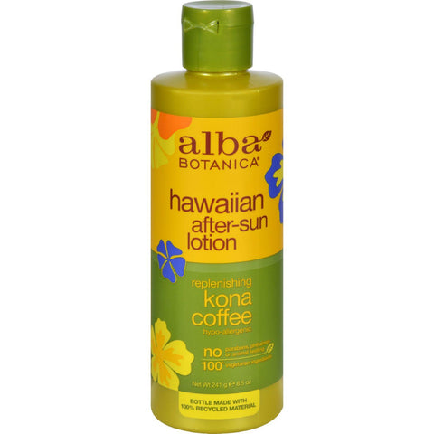 Alba Botanica Hawaiian Kona Coffee After-sun Lotion - 8.5 Fl Oz - exploreLOHAS