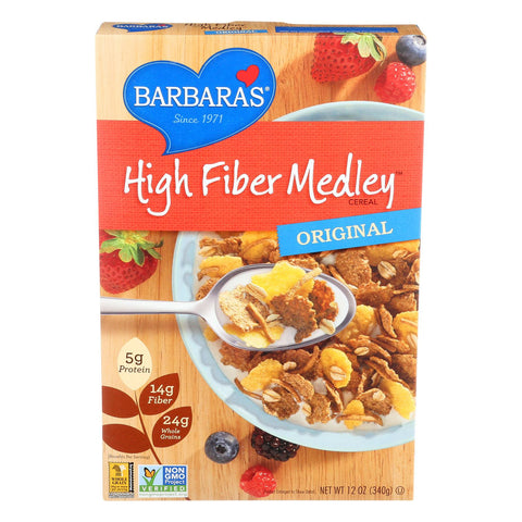 Barbara's Bakery High Fiber Cereal - Original - Case Of 6 - 12 Oz. - exploreLOHAS
