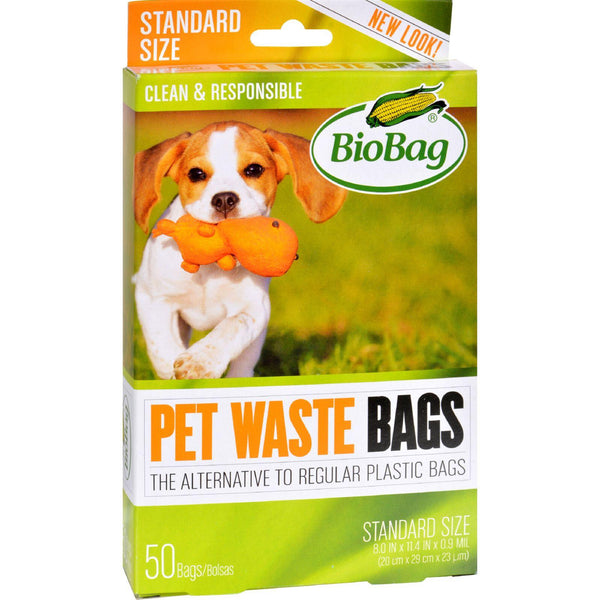 Biobag Dog Waste Bags - 50 Count - Case Of 12 - exploreLOHAS