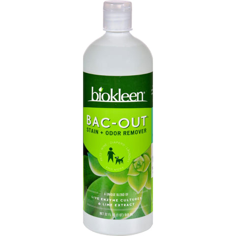 Biokleen Bac-out Stain And Odor Remover - Case Of 12 - 32 Oz - exploreLOHAS