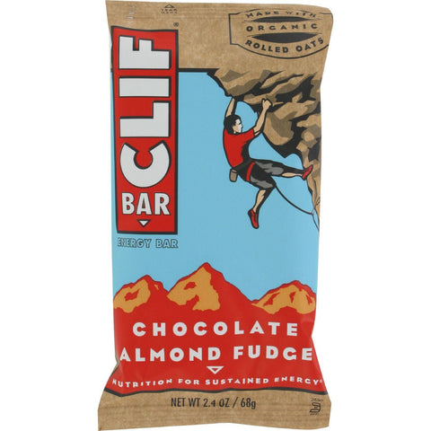 Clif Bar - Organic Chocolate Almond Fudge - Case Of 12 - 2.4 Oz - exploreLOHAS