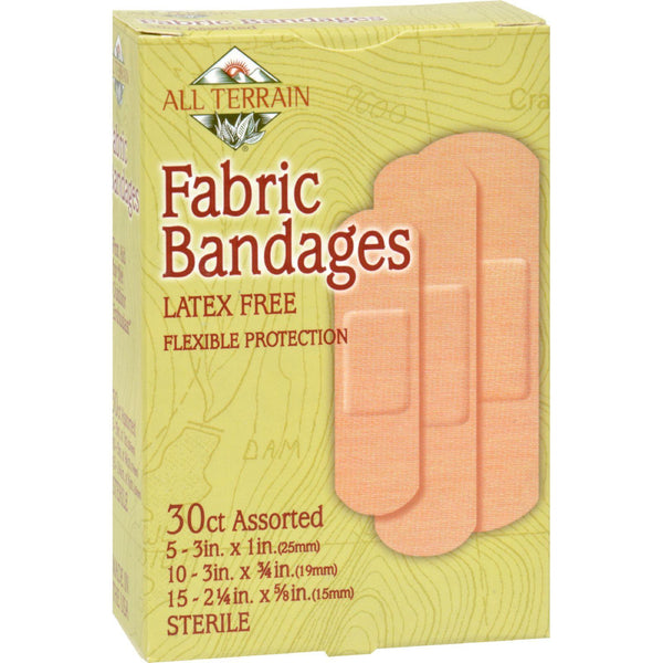 All Terrain Bandages - Fabric Assorted - 30 Ct - exploreLOHAS