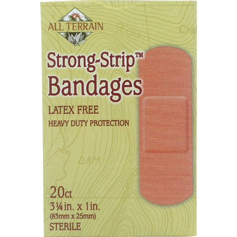 All Terrain Bandages - Strong-strip - 20 Count - 1 Each - exploreLOHAS