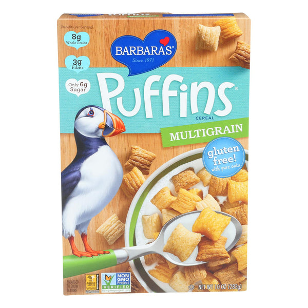 Barbara's Bakery Puffins Cereal - Multigrain - Case Of 12 - 10 Oz. - exploreLOHAS