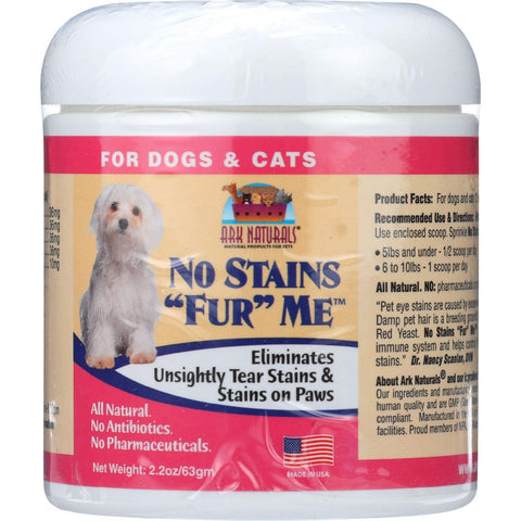 Ark Naturals No Stains Fur Me - 2.2 Oz - 1 Each - exploreLOHAS
