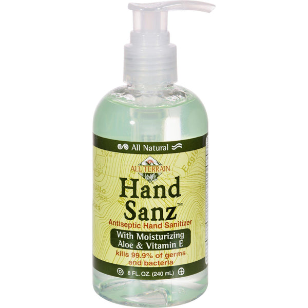 All Terrain All-natural Hand Sanz - 8 Fl Oz - exploreLOHAS
