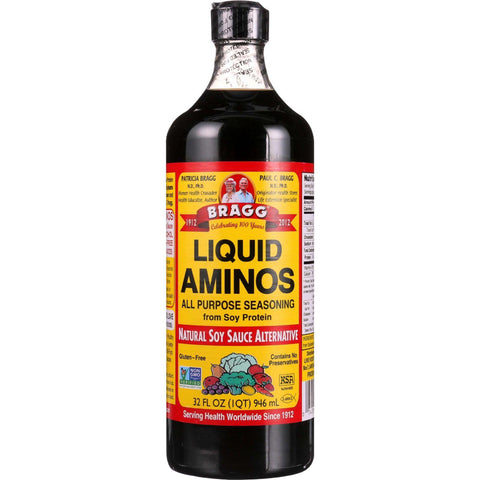 Bragg Liquid Aminos - 32 Oz - Case Of 12 - exploreLOHAS