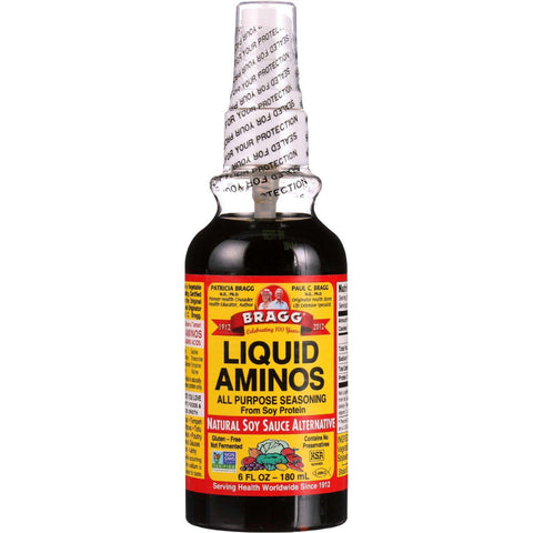 Bragg Liquid Aminos Spray Bottle - 6 Oz - Case Of 24 - exploreLOHAS