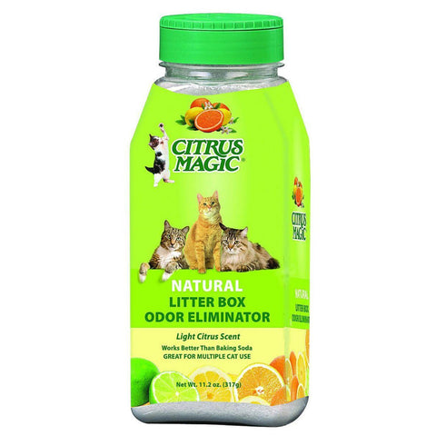 Citrus Magic Litter Box Odor Eliminator - 11.2 Oz - exploreLOHAS