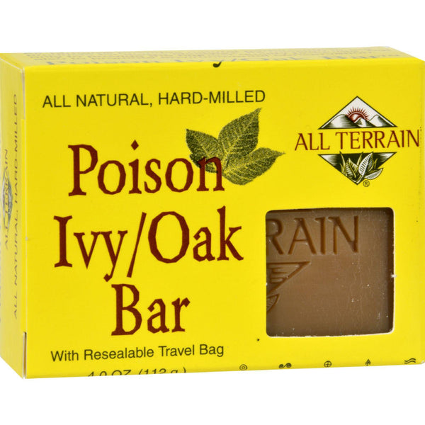 All Terrain Poison Ivy Oak Bar Soap - 4 Oz - exploreLOHAS