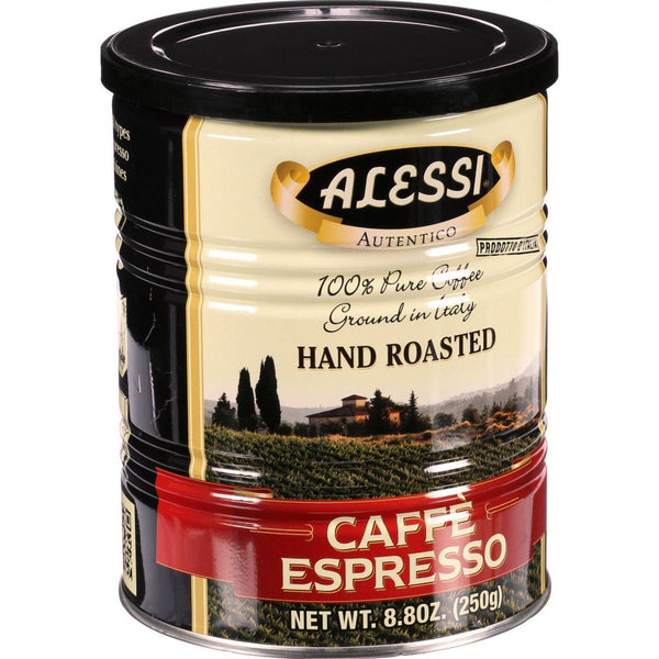 Alessi Coffee - Caffe Espresso - 8.8 Oz - Case Of 6 - exploreLOHAS