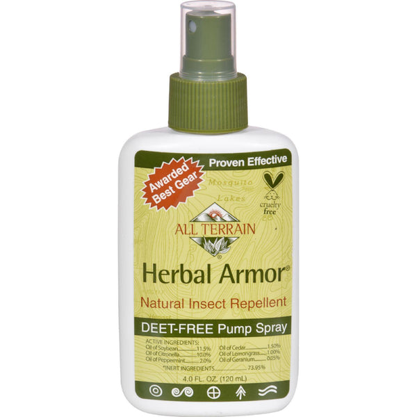 All Terrain Herbal Armor Natural Insect Repellent - 4 Fl Oz - exploreLOHAS