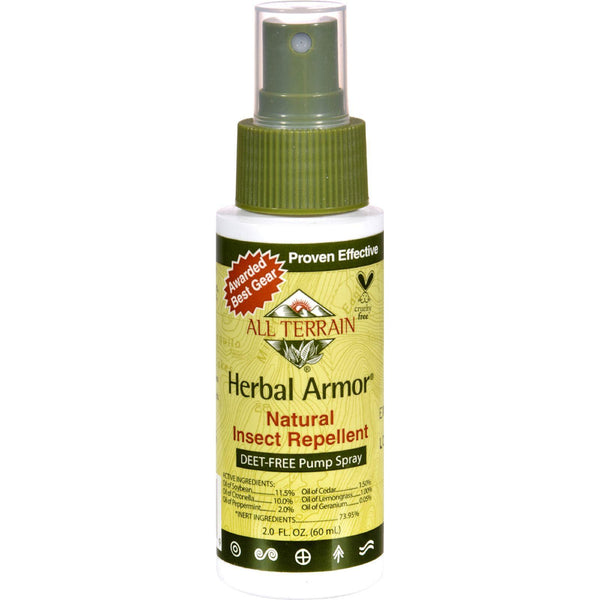 All Terrain Herbal Armor Natural Insect Repellent - 2 Fl Oz - exploreLOHAS