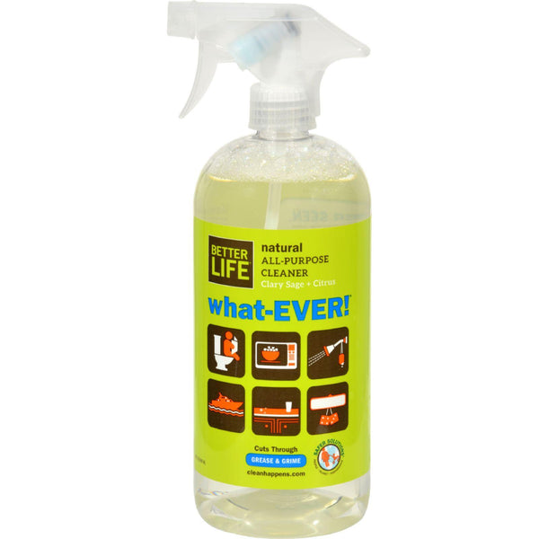 Better Life Whatever All Purpose Cleaner - Sage And Citrus - 32 Fl Oz - exploreLOHAS
