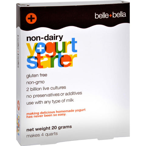 Belle And Bella Yogostarter - Non-dairy - 4 Grams - exploreLOHAS