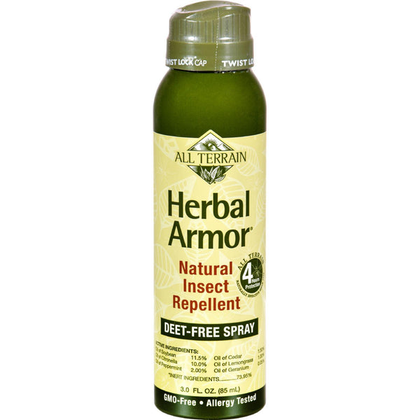 All Terrain Herbal Armor Natural Insect Repellent - Continuous Spray - 3 Oz - exploreLOHAS