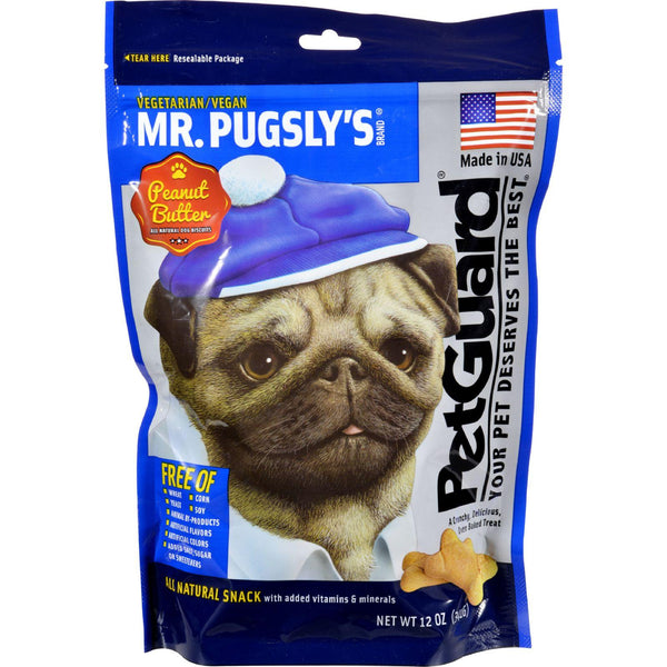 Petguard Dog Biscuit - Mr.pugsly - 12 Oz - Case Of 6