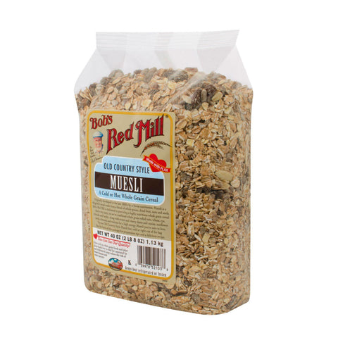 Bob's Red Mill Old Country Style Muesli Cereal - 40 Oz - Case Of 4 - exploreLOHAS