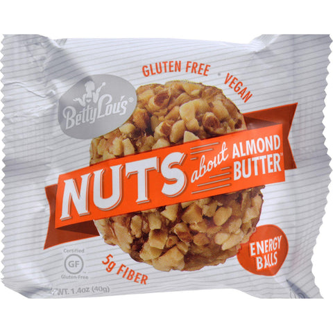 Betty Lou's Nut Butter Balls - Almond Butter - 1.4 Oz - 40 Ct - exploreLOHAS