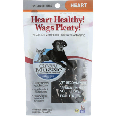 Ark Naturals Heart Healthy Wags Plenty - Gray Muzzle - 60 Count - 1 Each - exploreLOHAS