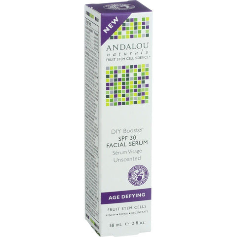 Andalou Naturals Facial Serum - Diy Booster Spf 30 - 2 Oz - exploreLOHAS