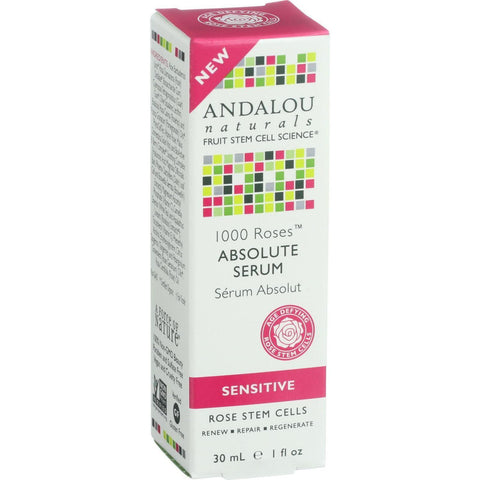Andalou Naturals Absolute Serum - 1000 Roses - 1 Oz - exploreLOHAS