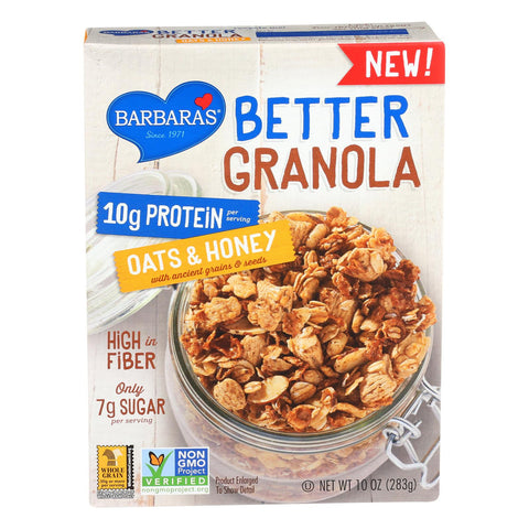 Barbara's Bakery Better Granola - Oats And Honey - Case Of 12 - 10 Oz. - exploreLOHAS