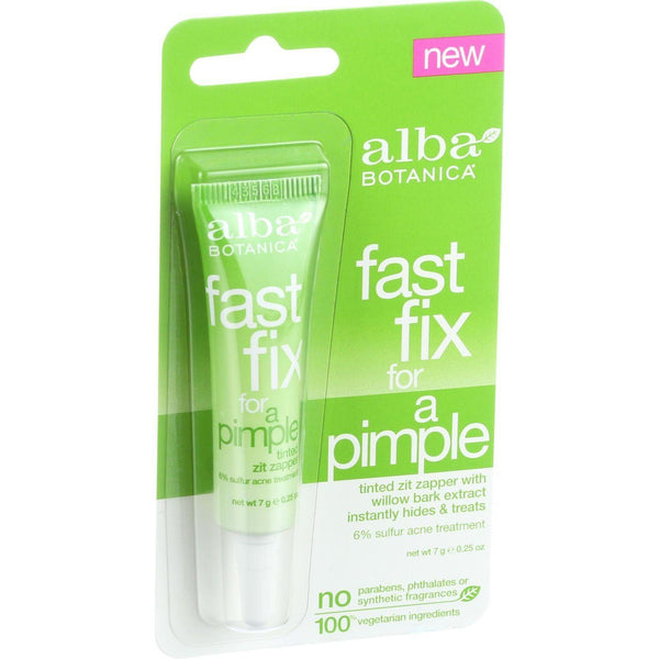 Alba Botanica Fast Fix For A Pimple - .25 Oz - Case Of 6 - exploreLOHAS