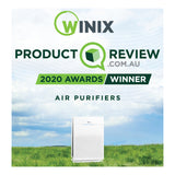 The Winix Zero+ Pro 5 Stage air purifier is the Product Review 2020 Awards Winner for Air Purifiers