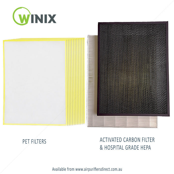 WINIX Complete Filter Bundle For ZERO+ PRO 5-Stage Air Purifier